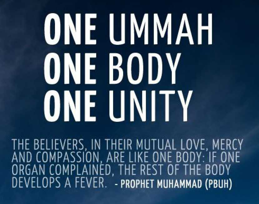 Our Beloved Prophet Leads us to Unity