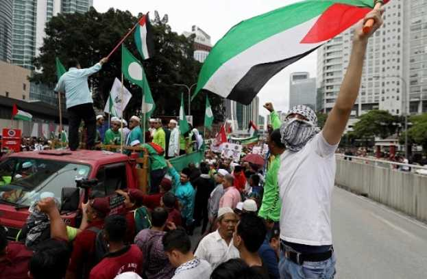 Indonesian & Malaysian Muslims Rally to Protest Trump Decision on Al-Quds