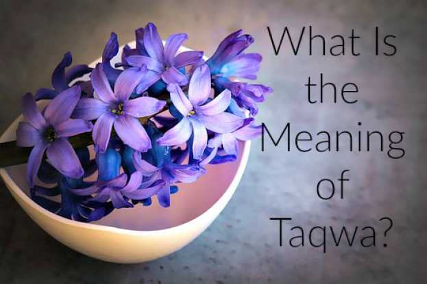 "What is ""Taqwa"" and How Can I Develop It?"